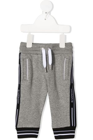 Givenchy Logo stripe track trousers