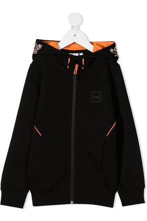 HUGO BOSS Hooded zip jacket