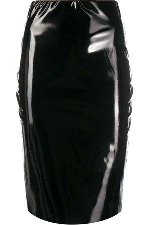 Alchemy Mujer Midi - Falda midi ajustada revestida