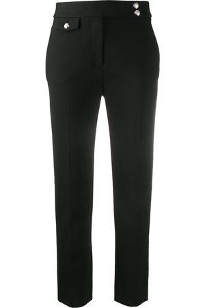 VERONICA BEARD Pantalones slim con tiro alto
