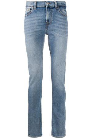 7 for all Mankind Hombre Skinny - Jeans slim con tiro medio