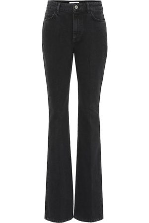 The Attico High-rise flared jeans