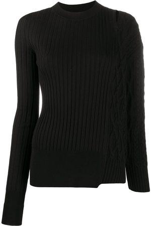 SACAI Suéter con diseño de patchwork