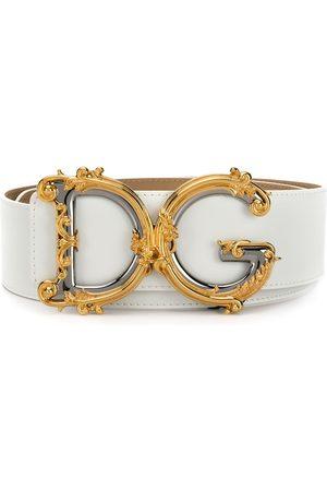 Dolce & Gabbana Cinturón DG con motivo barroco