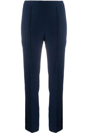 HEBE STUDIO Pantalones con rayas en contraste