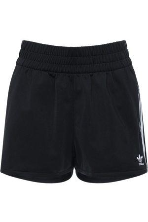adidas Shorts Deportivos De Algodón Con Rayas