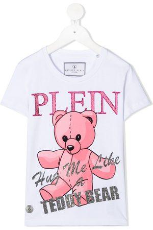 Philipp Plein Playera con motivo de osito