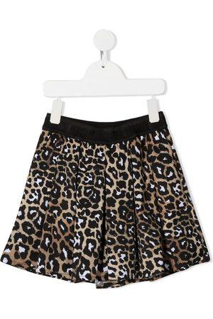 Msgm Pantalones cortos con estampado de leopardo