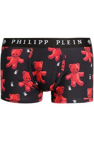 Philipp Plein Ropa interior con motivo Teddy Bear