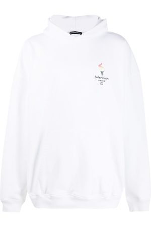 Balenciaga Paris Olympics embroidery hoodie