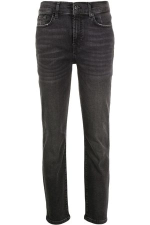 7 for all Mankind Mujer Skinny - High-rise slim fit jeans