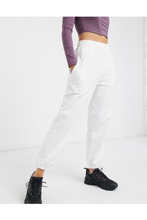 I saw it first Joggers in white