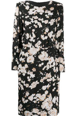 Moschino Vestido recto con estampado floral