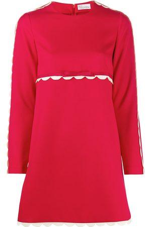 RED Valentino Mujer Vestidos - Vestido con ribete festoneado