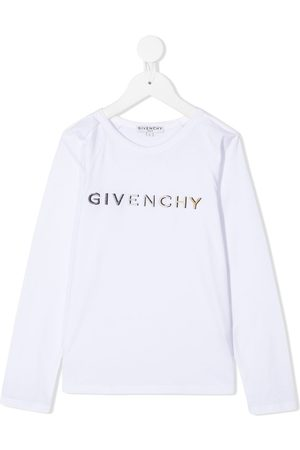 Givenchy Top con logo bordado