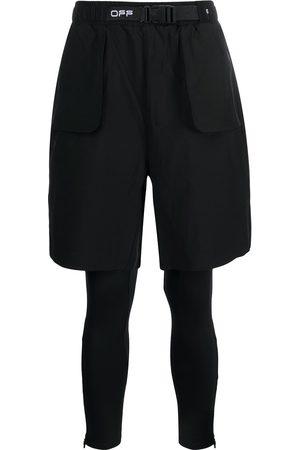 OFF-WHITE Shorts deportivos con hebilla