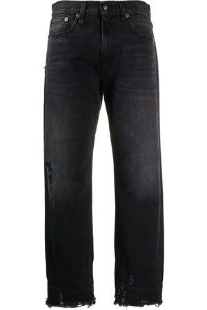 R13 Jeans capri con bolsillos