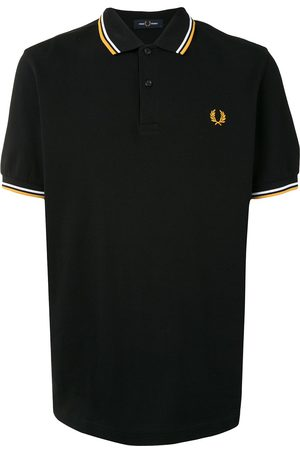 Fred Perry Playera tipo polo con ribetes de rayas