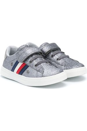 Tommy Hilfiger Glitter touch-strap sneakers