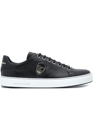 Philipp Plein Skull plaque low-top sneakers