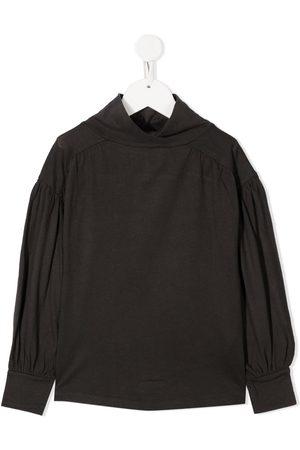 DOUUOD KIDS Suéteres cerrados - High-neck long-sleeve jumper