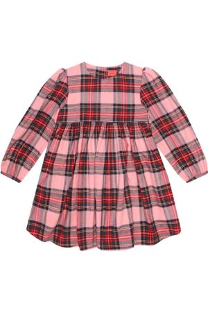 MORLEY Kenzie checked cotton dress