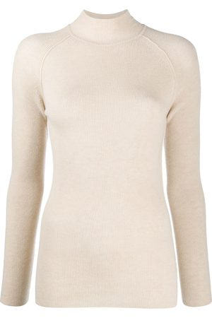 FORTE FORTE High-neck knit jumper