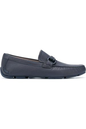 Salvatore Ferragamo Gancini moccasin driver shoes