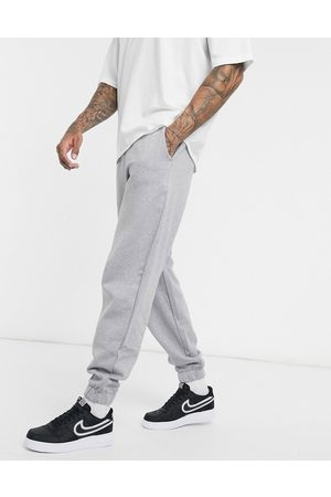 ASOS Organic oversized joggers in grey marl