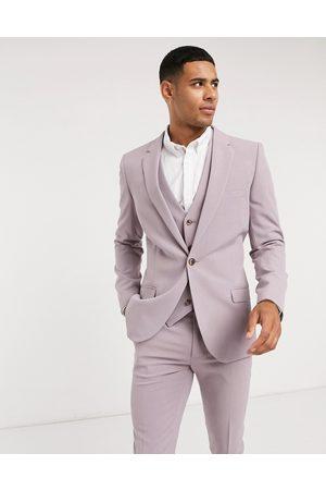 ASOS Super skinny suit jacket in dusty mauve