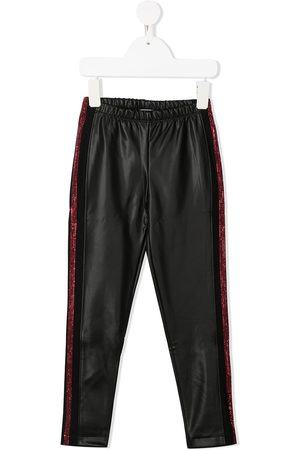 MONNALISA Embellished biker trousers