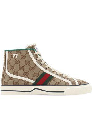 "Gucci Sneakers "" Tennis 1977"" De Lona 10mm"