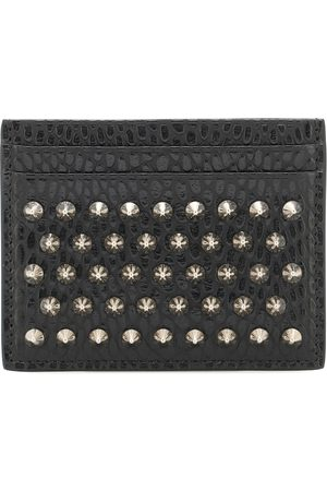 Christian Louboutin Studded leather card holder