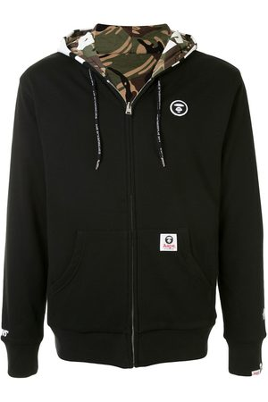 AAPE BY *A BATHING APE® Sudadera reversible con cierre