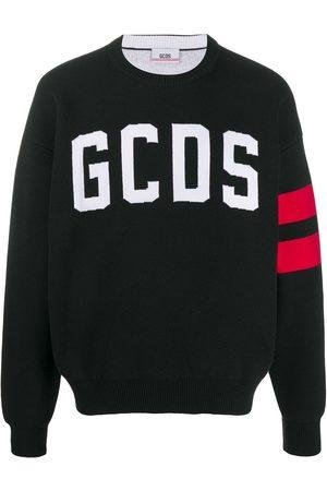 GCDS Suéter con logo estampado