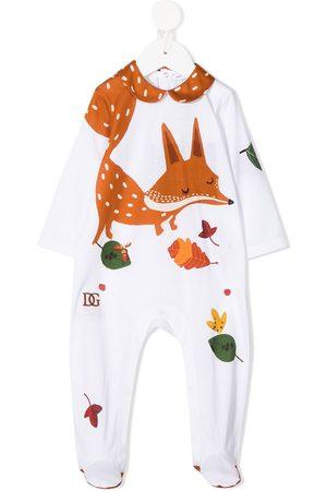 Dolce & Gabbana Pijama con estampado de zorro