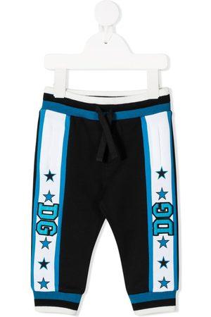 Dolce & Gabbana Pantalones de chándal con logo bordado
