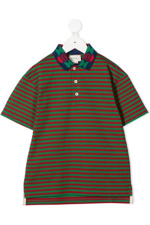 Gucci Striped polo shirt