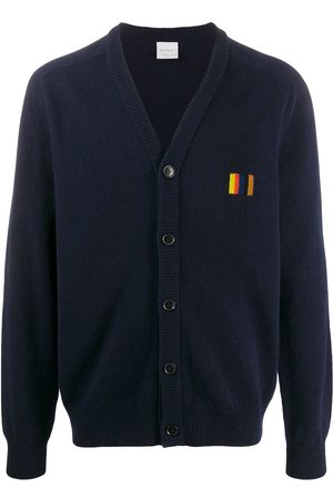 Paul Smith Artist Stripe v-neck cardigan