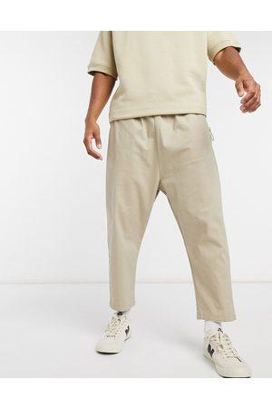 ASOS Drop crotch chinos in