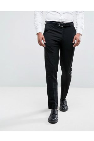 River Island Skinny fit smart trousers in black