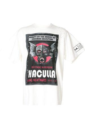 HACULLA Playera con logo de monstruo