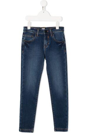 Karl Lagerfeld Skinny jeans con tiro medio