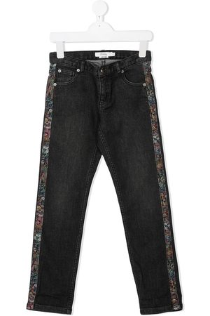 BONPOINT Side-panel straight-leg jeans
