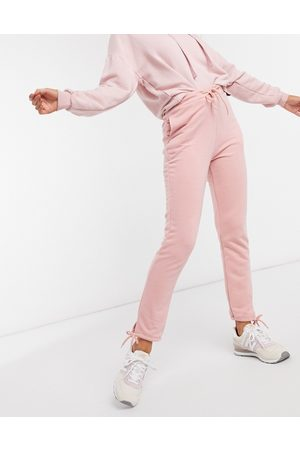 South Beach Slim fit joggers in rose pink