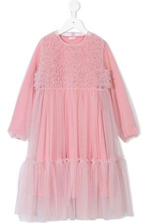 Il gufo Textured smock dress