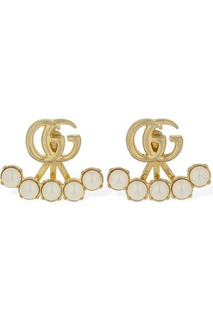Gucci Pendientes De Perlas De Imitación