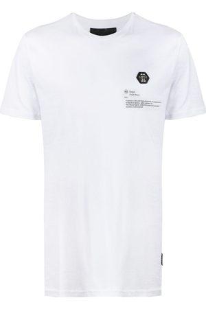Philipp Plein Camiseta con parche del logo