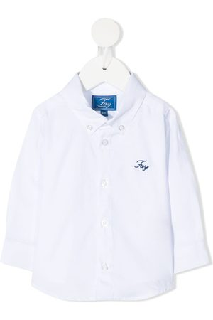 FAY KIDS Button-down collar shirt