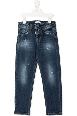 Msgm Logo straight-leg jeans